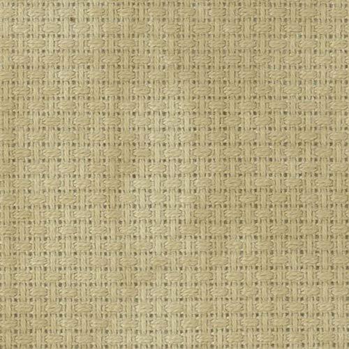 Zweigart 14ct Aida-18x21 Needlework Fabric - Vintage Country Mocha
