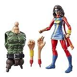 Marvel Legends Series Ms. Marvel de 6 Pulgadas.