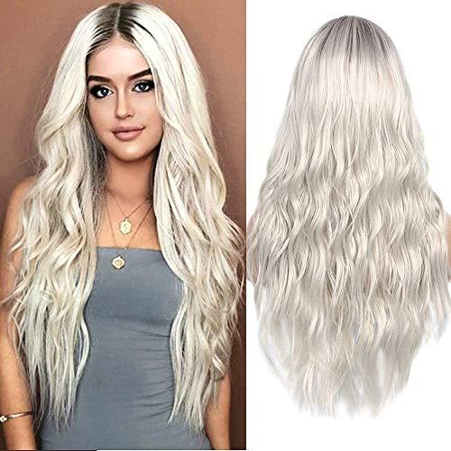 comprar pelucas grises medias on-line