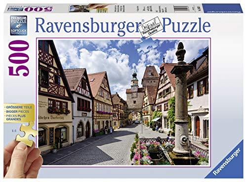 Ravensburger Puzzle 13607 - Rothenburg ob der Tauber - 500 Teile