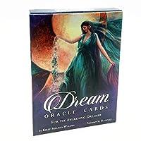 娯楽のための Tarotカードデッキ、夢のオラクルカードタロット、タロットカードの不思議な占い占星術板のゲーム