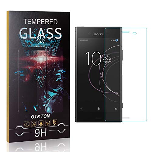GIMTON Displayschutzfolie für Sony Xperia Z4 Compact, 99% Transparenz Blasenfrei Schutzfilm aus Gehärtetem Glas für Sony Xperia Z4 Compact, 9H Härte, Anti Kratzen, 1 Stück