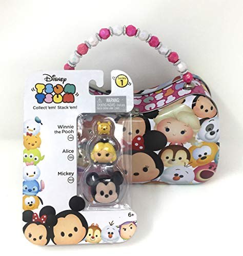 Tsum Tsum 3-Pack Figure in a Box, Mystery Set