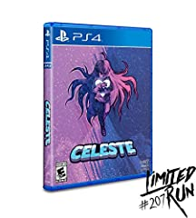 Celeste on physical disc for the PlayStation 4. Region free. Includes beautiful interior art and a full-color manual. Cover Art by Amora Bettany.