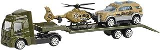 callm Children Educational Toy Truck Toy Car Model Scenes Set Portable Storage