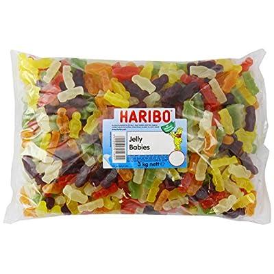 haribo jelly babies, bulk bag sweets, jelly men, 3kg bulk sweets HARIBO Jelly Babies, bulk bag sweets, Jelly Men, 3kg bulk sweets 515Rj9eiisL