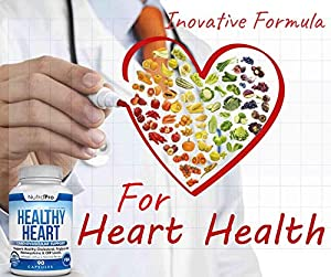 Healthy Heart - Heart Health Supplements. Artery Cleanse & Protect. Supports Cholesterol and Triglyceride Balancing. GMP Certified #2