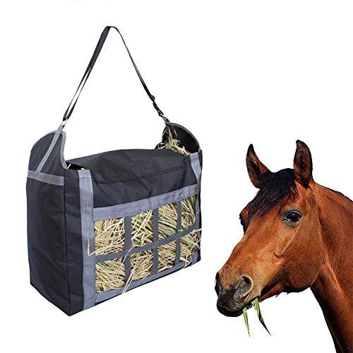 Bolsa para Heno, Accesorios para Comida para Sacos De Heno para Caballos De Tela 600D Oxford Y Bolsa De Gran Cap Acidad, Bolsa para Alimentación De Heno De Horse Garden Farm