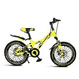 MYERZI Absorción de Impacto Bicicleta portátil de 21 velocidades niños de las montañas for bicicleta plegable bicicleta unisex de 20 pulgadas Pequeño Rueda de bicicleta (Color: NEGRO, tamaño: 142 * 62