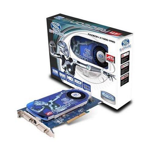 Sapphire RADEON X1950 PRO 512MB DDR3, AGP 8x, DUAL-DVI TVO Grafikkarte, L-RETAIL