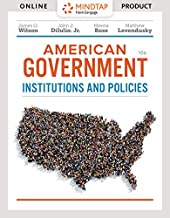 Bundle: American Government: Institutions and Policies, Loose-leaf Version, 16th + MindTap Political Science, 1 term (6 months) Printed Access Card