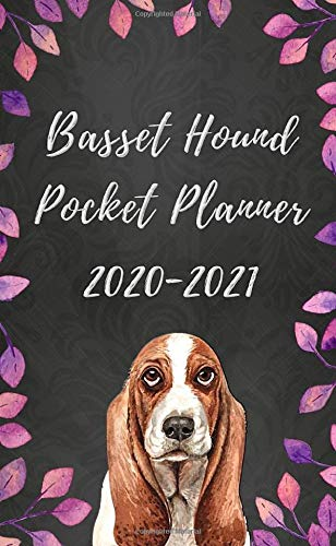Basset Hound Pocket Planner 2020-2021: With Funny 'What My Basset Hound Might Say If It Could Talk' Quotes on Random Pages (2 Year Pocket Calendar, 2020 Pocket Planner)