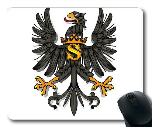 (genaue - kante - mousepad) Adler Vogel Mantel symbole tiere König Gaming - Maus MIT rüstung Mac - Oder computer mouse pad.