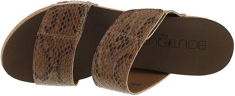 Corkys womens Flip-flop Brown Snake