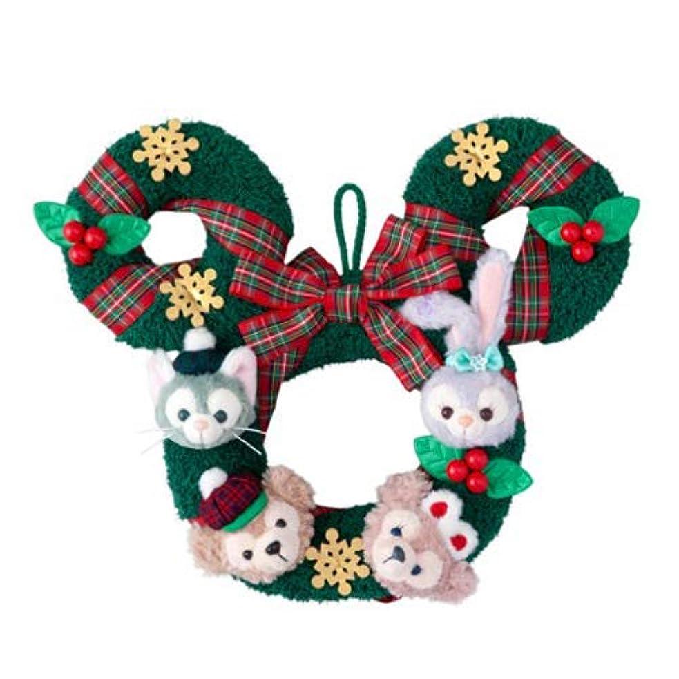 眠いですコンパイルビリーダッフィー&フレンズ クリスマス リース ダッフィーのクリスマス2018  ディズニー お土産 【東京ディズニーシー限定】