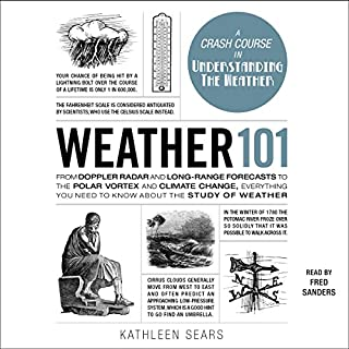 Weather 101 audiobook cover art