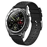 F22U Bluetooth Sports Smart Uhr Männer GPS Fitness Tracker Full Touch Smart Armband Frau Temperatur Smartwatch Android Ios,A