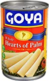 Goya Foods Whole Hearts of Palm (Palmitos), 14.1-Ounce (Pack of 12)