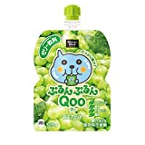 コカ・コーラ ミニッツ メイド ぷるんぷるんQoo クー マスカット ゼリー飲料 パウチ 125g×30袋