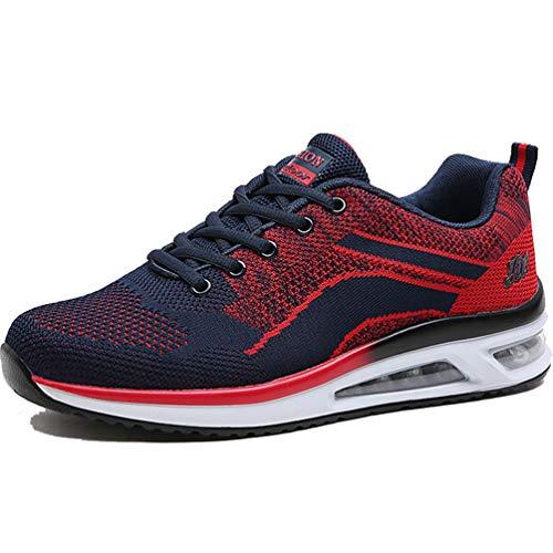 Männer Gym Schuhe Frühling Laufen Walking Lässige Schuhe Shock Absorbing Dämpfung Mesh Sneakers
