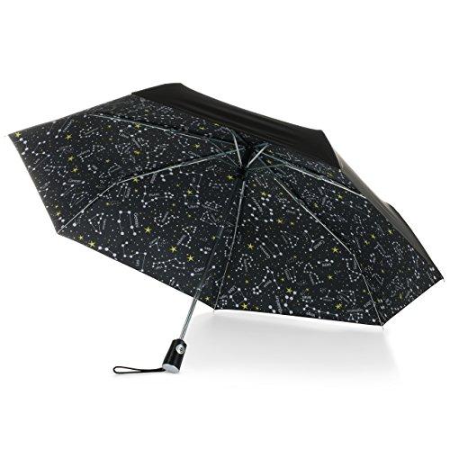 totes Under Canopy Print Auto Open Close Umbrella, One Size, Zodiac