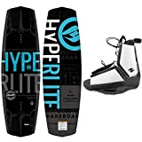 Hyperlite New 2020 Wakeboard Machete with Destroyer Wakeboard Bindings...