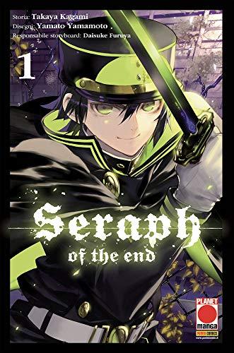 Seraph of the End N° 1 - Ristampa - Planet Manga - Panini Comics - ITALIANO #MYCOMICS