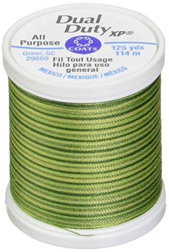 Coats Thread & Zippers Dual Duty XP Allzweckgarn, 125 Meter, Frühlingsgrün