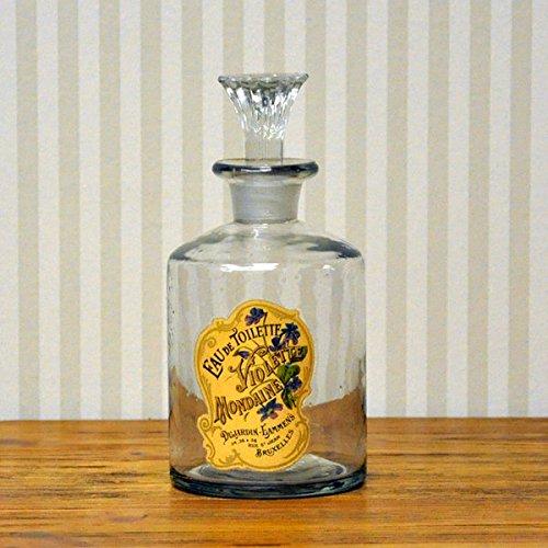 14cm French Classic Reproduktion Glas Parfüm Flasche Mondaine