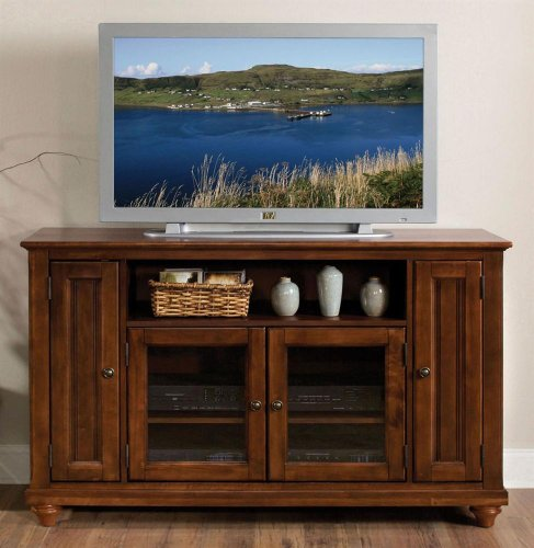 Big Sale Best Cheap Deals Home Styles 5529-10 Chesapeake Entertainment Credenza, Cherry Finish