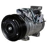 Scion tC A/C Compressors & Components - Denso 4711006 New Compressor with Clutch
