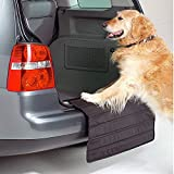 Big Ant Auto Ladekantenschutz für Hund, stoßstangenschutz Hund, stossstangenschutz Hund passt Alles Fahrzeug