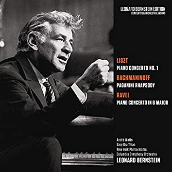 Liszt: Piano Concerto No. 1 in E-Flat Major, S. 124 - Rachmaninoff: Rhapsody on a Theme by Paganini, Op. 43 - Ravel: Piano Concerto in G Major, M. 83