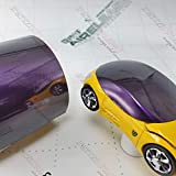 KPMF K75465 Gloss Purple Black Iridescent 3in x 5in (Sample Size) Vinyl Car Wrap Film