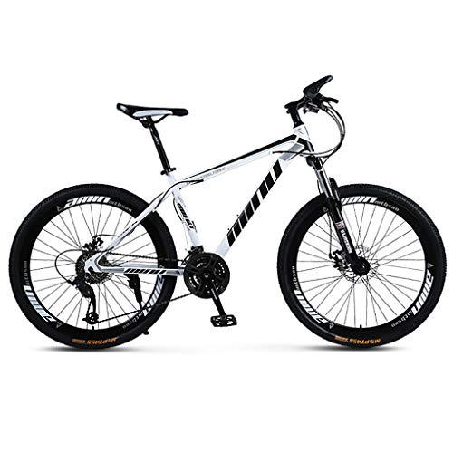 SCYDAO Adulto Bicicleta De Montaña, Bicicleta De Montaña De 26 Pulgadas 21/24/27/30...