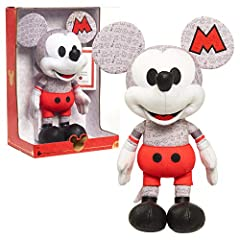 Special Edition Mouseketeer Mickey Mouse Plush celebrates the month of October. Includes Certificate of Authenticity. Comes in a window box featuring special Year of the Mouse packaging. Amazon exclusive. Mickey stands 16 inches tall. Made a cotton j...