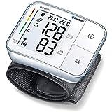 Vollautomatische Blutdruckmessung und Pulsmessung am Handgelenk und Überwachung arterieller Blutdruckwerte, für Handgelenks-Umfänge von 14 - 19,5 cm, Product dimensions (L x W x H): 74 x 60 x 23 mm. Der Blutdruckmesser überträgt Ihre Werte auf Wunsch...