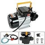 BLACKHORSE-RACING Self Priming 110v Ac 16GPM Oil Transfer Pump Fuel Diesel Kerosene Biodiesel Pump w/Hose & Nozzle