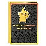 Hallmark Pokmon Birthday Card (Wild Pikachu)