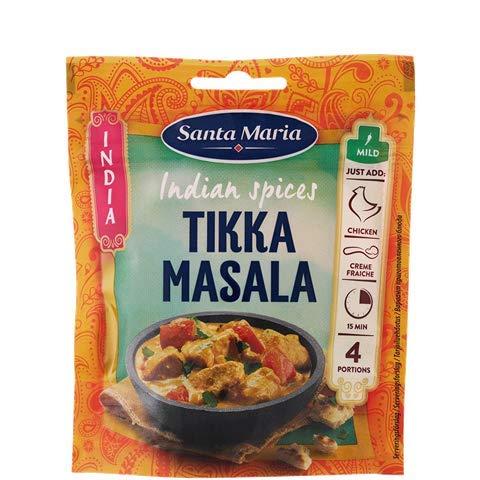 Santa Mar'a Tikka Masala condimento mezcla de especias para la cocina india, 35 g