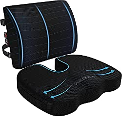Fortem The Extra Mile-best seat cushion and lumbar support