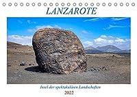 """Lanzarote - Insel der spektakulaeren Landschaften (Tischkalender 2022 DIN A5 quer): Impressionen von der """"schwarzen Perle"""" der Kanaren (Geburtstagskalender, 14 Seiten )"""