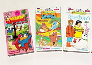 Just for Kids Animated Multi 3-pack: Seabert in Bungle in the jungle, Bluffers over bluffoonia in my balloonia, Ovide and the Gang