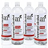 Isopropyl Alcohol 99% Pure - 4 Pack -1 Gallon...