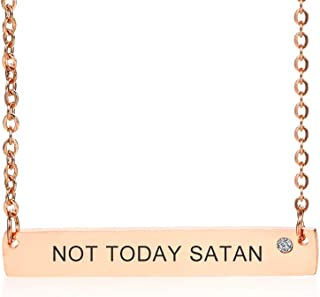 Best not today satan necklace Reviews