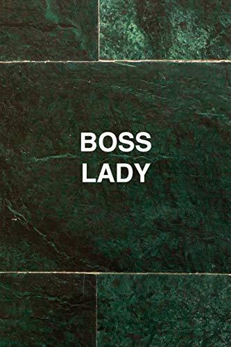Boss Lady Journal Inspirational Womens Notebook: Dot Grid Bullet Journal Notebook, 120 Paged, Lined, 6 x 9 (15.2 x 22.9 cm)