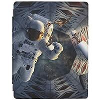 UDDesign 宇宙 コーヒー iPad Air 4 ケース 2020 iPad 10.9インチ カバー 2020モデル アイパッド エア 第4代 タブレットケース オートスリープ機能 軽量 薄型 PU+TPU 三つ折り