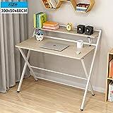 HPLL Lapdesks Computer Klapptisch, Multifunktions Laptop Computer Büro Lesetisch Klapptisch Laptop Indoor Home Office Couchtisch (4 Farben Optional) (Farbe : C, größe : 100x50x88cm)