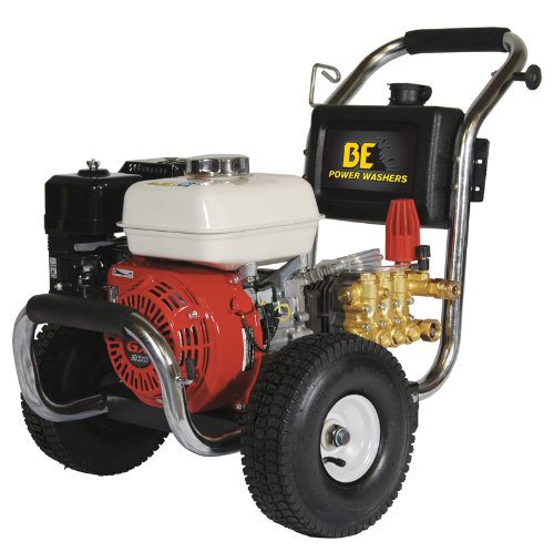 Buy Bargain B E Pressure PE-2565HWSCAT Gas Powered Pressure Washer, GX200, 2500 PSI, 3 GPM