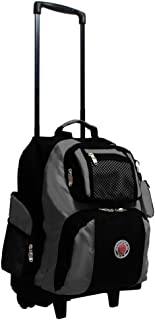 TRANSWORLD Away 22-inch Carry-on Rolling Backpack